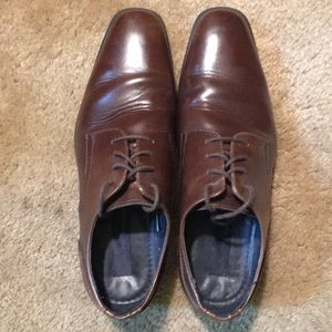 Joesph Aboud Men's Leather Oxford - Size 11 Brown